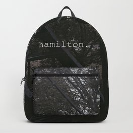 hamilton. Backpack