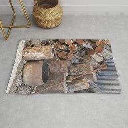 The Camp Fire Rug