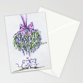 Mousey Mistletoe Stationery Cards
