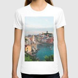 Vernazza, Italy (Portrait) T-shirt