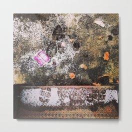Snow Dusting - Texture Metal Print