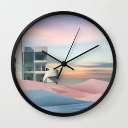 Pastel Minimalism Wall Clock