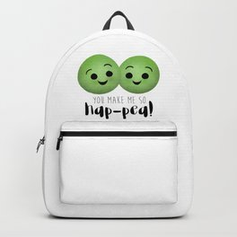 You Make Me So Hap-pea! Backpack