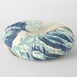 Katara Riding the Wave Floor Pillow