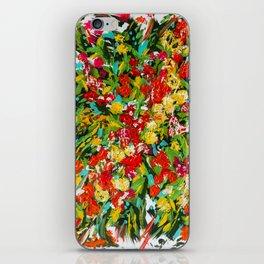 Zinnias iPhone Skin
