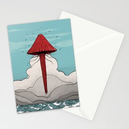 Méduse volante #5 Stationery Cards