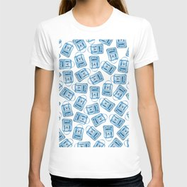 Blue Fjallraven Kanken Backpack T-shirt