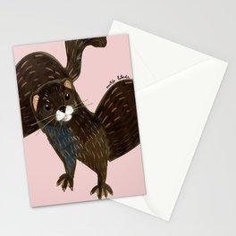 God save the mink Stationery Cards