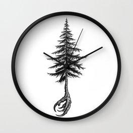 Crow's claw Wall Clock