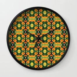 Fiesta Flare Wall Clock