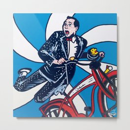 Peewee | Pop Art Metal Print