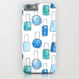 Nail Polish | Blue iPhone Case