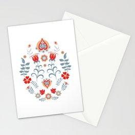 Hygge Scandinavian Folk Art Stationery Cards