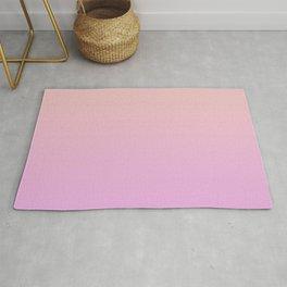 A gentle gradient in pink. Rug