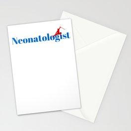 Neonatologist Ninja in Action Stationery Cards