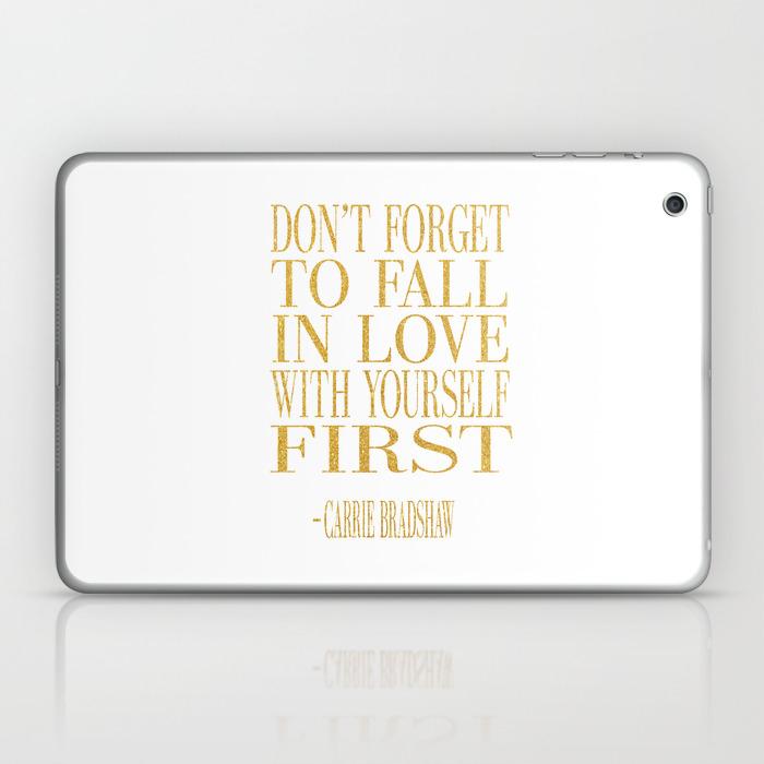 Don't Be Like The Rest Of Them Darling Laptop & Ipad Skin by Nikolajovanovic LSK7769244