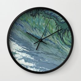 Churning Up Wall Clock