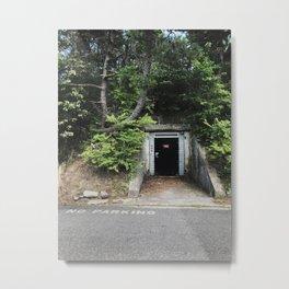 Fourth Cliff Bunker. Humarock, MA. Metal Print