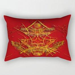 Chinese Art Rectangular Pillow