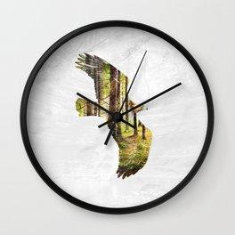 Soar Like An Eagle. Wall Clock