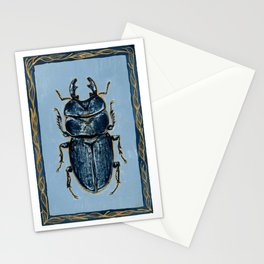 Tasmanian Stag Beetle Stationery Cards