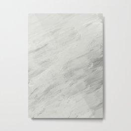 Abstract: fake marble Metal Print
