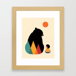 Heart To Heart Framed Art Print