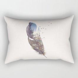 Feather Rectangular Pillow