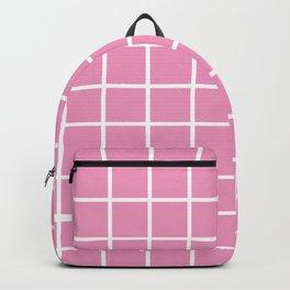 Light Pink Grid Pattern 2 Backpack