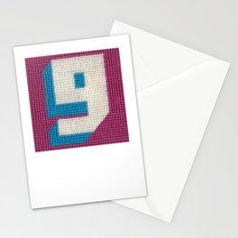Needlepoint 9 (Nine) or 6 (Six) Stationery Cards