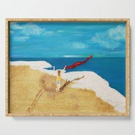 Beachdance Serving Tray