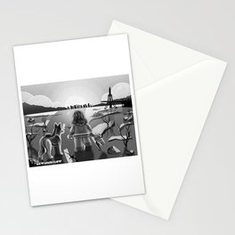The Lone Survivor Stationery Cards