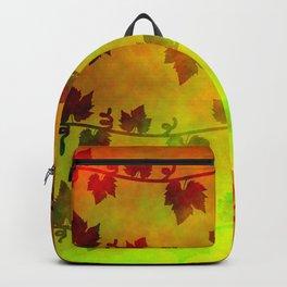 Harvest Time Vines Design Backpack