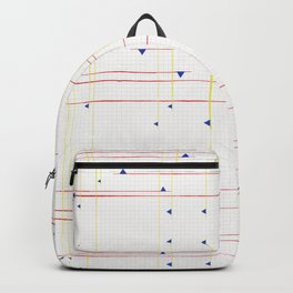 Primary on a Grid Backpack