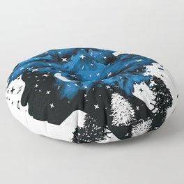 Follow your own star Floor Pillow