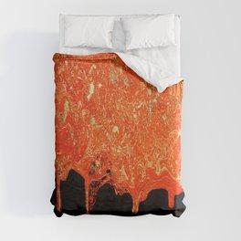 Lava Duvet Cover