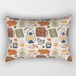 Woodland Wanderings Rectangular Pillow