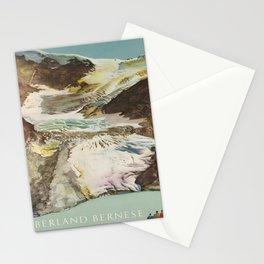 Advertisement oberland bernese svizzera  Stationery Cards