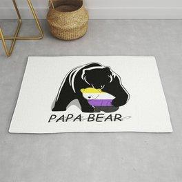 Papa Bear Nonbianary Rug