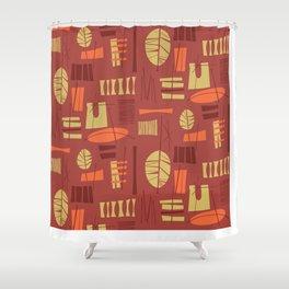 Hibok-Hibok Shower Curtain