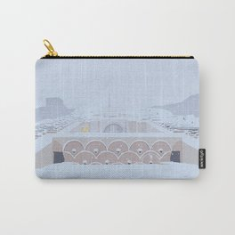 Soviet Modernism: The Yerevan Cascade Carry-All Pouch