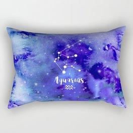 Aquarius Constellation Rectangular Pillow