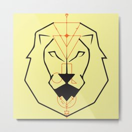Leon / Leo Metal Print