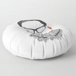 RBG Ruth Bader Ginsburg Drawing Floor Pillow