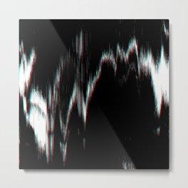 Dark Cliff Metal Print