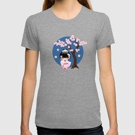 Japanese Bride Kokeshi Doll T-shirt