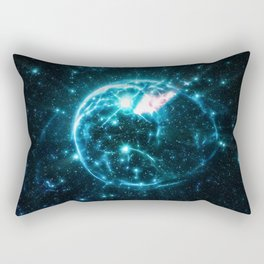 Bubble Nebula Rectangular Pillow