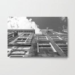 Dutch architecture in Amsterdam Metal Print