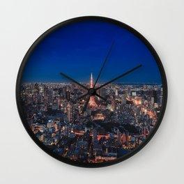 Tokyo 20 Wall Clock