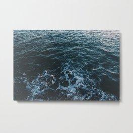 Dark #Sea Metal Print